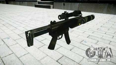 Tática submetralhadora MP5 para GTA 4 segundo screenshot