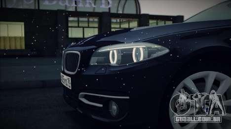 BMW 535i F10 para vista lateral GTA San Andreas