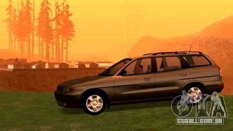 Daewoo Nubira eu Vagão CDX-NOS de 1999 para GTA San Andreas vista direita