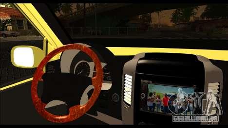 Volkswagen Transporter Panelvan para GTA San Andreas traseira esquerda vista
