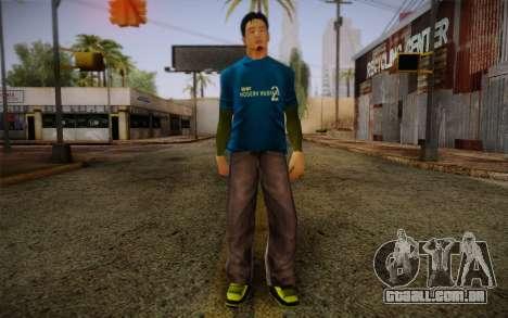 Ginos Ped 10 para GTA San Andreas