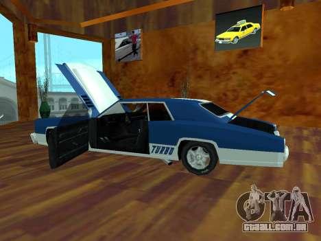Buccaneer Turbo para GTA San Andreas vista direita