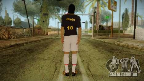 Footballer Skin 1 para GTA San Andreas segunda tela