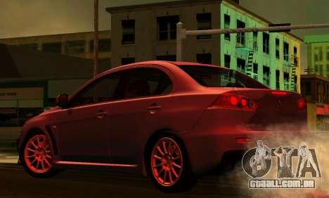 ENB Series para baixo PC 2.0 para GTA San Andreas sexta tela