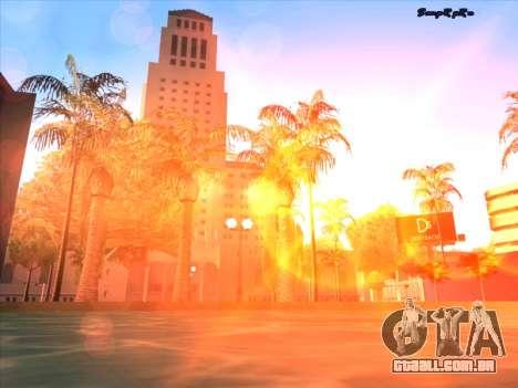 Sunset ENB para GTA San Andreas sétima tela