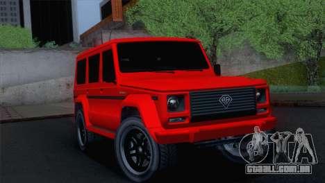 GTA 5 Benefactor Dubsta para GTA San Andreas