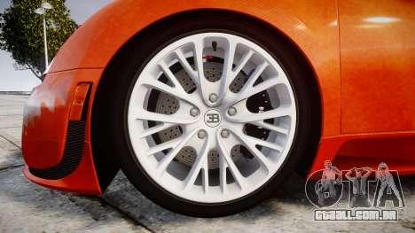 Bugatti Veyron 16.4 SS [EPM] Halloween Special para GTA 4 vista de volta