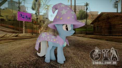 Trixie from My Little Pony para GTA San Andreas