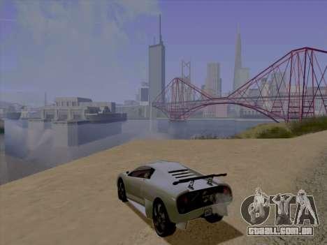 Jundo ENB Series para GTA San Andreas segunda tela