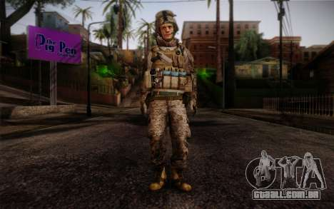 Blackburn from Battlefield 3 para GTA San Andreas