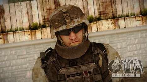 Army Skin 1 para GTA San Andreas terceira tela