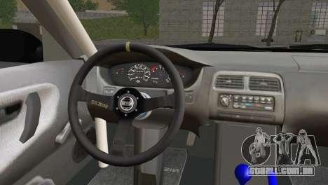 Nissan 180SX EasyStreet para GTA San Andreas traseira esquerda vista