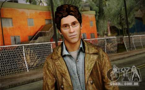 Harry Mason From SH: Shattered Memories para GTA San Andreas terceira tela
