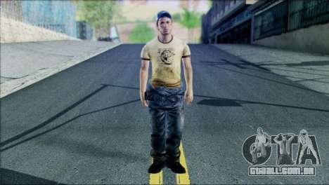 Left 4 Dead Survivor 6 para GTA San Andreas