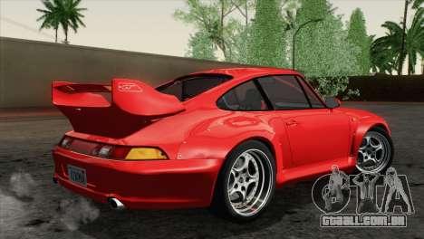 Porsche 911 GT2 (993) 1995 [HQLM] para GTA San Andreas esquerda vista