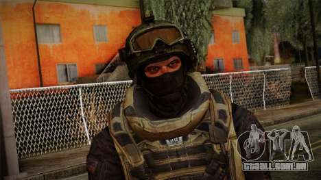 Modern Warfare 2 Skin 4 para GTA San Andreas terceira tela