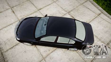 BMW 525d E60 2009 Police [ELS] Unmarked para GTA 4 vista direita