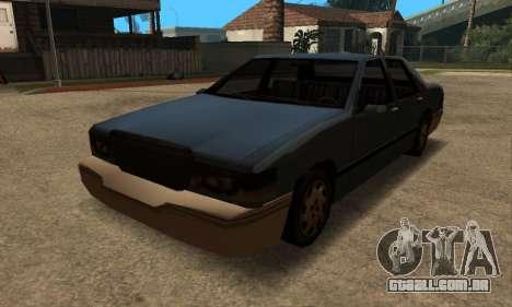 Beta Elegant Final para GTA San Andreas vista traseira
