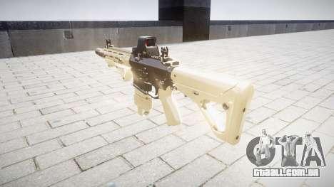 Rifle AR-15 CQB typeeotech para GTA 4 segundo screenshot