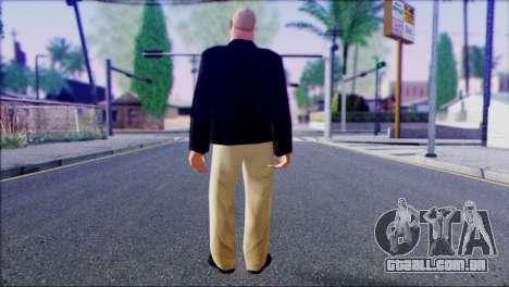 Russian Mafia Skin 1 para GTA San Andreas segunda tela