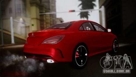 Mercedes-Benz CLA 250 2014 para GTA San Andreas esquerda vista