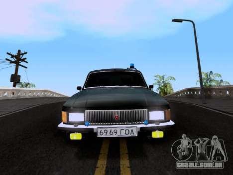 Volga GAZ 3102 para GTA San Andreas traseira esquerda vista