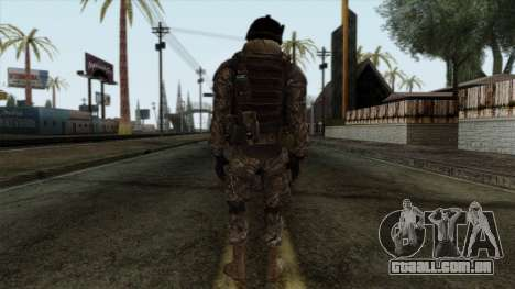 Modern Warfare 2 Skin 7 para GTA San Andreas segunda tela