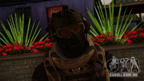 Modern Warfare 2 Skin 3 para GTA San Andreas terceira tela