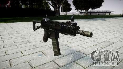 Arma de KAC PDW para GTA 4