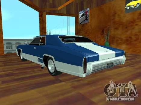 Buccaneer Turbo para GTA San Andreas esquerda vista