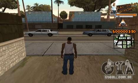 C-HUD LSW para GTA San Andreas
