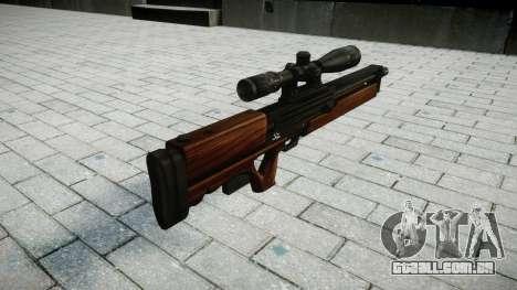 Sniper rifle Walther WA 2000 para GTA 4 segundo screenshot