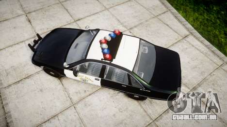 Chevrolet Caprice 1991 Highway Patrol [ELS] para GTA 4 vista direita