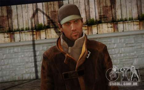 Aiden Pearce from Watch Dogs v11 para GTA San Andreas terceira tela
