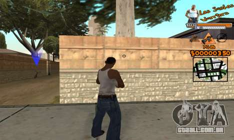 C-HUD LSW para GTA San Andreas terceira tela
