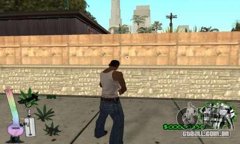 C-HUD Canabis para GTA San Andreas terceira tela