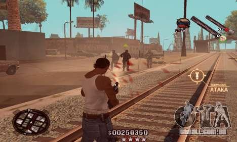 C-HUD Classic para GTA San Andreas terceira tela