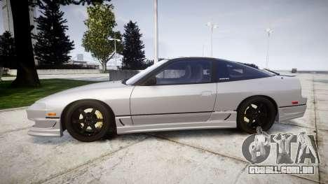 Nissan 240SX SE S13 1993 para GTA 4 esquerda vista