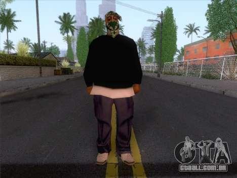 New Ballas Skin 1 para GTA San Andreas