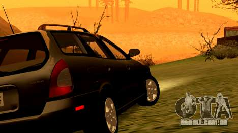 Daewoo Nubira eu Vagão CDX-NOS de 1999 para as rodas de GTA San Andreas