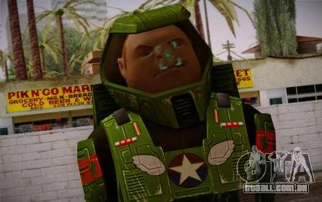 Space Ranger from GTA 5 v1 para GTA San Andreas terceira tela