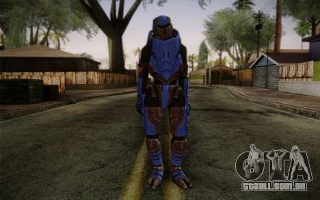 Garrus Helmet from Mass Effect 2 para GTA San Andreas