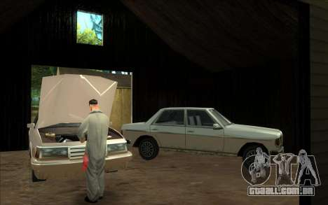 Estrada da garagem do Sigea para GTA San Andreas terceira tela