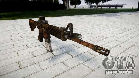 Tático de assalto M4 rifle para GTA 4