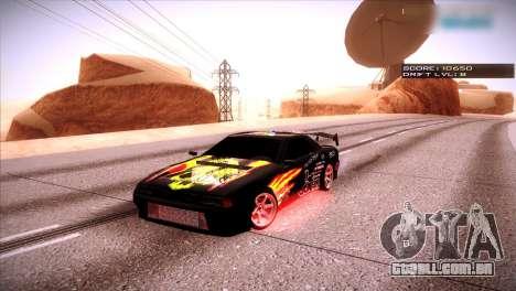 Just ENB para GTA San Andreas por diante tela