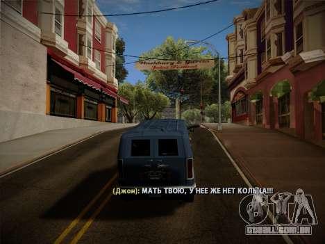 Sistema de roubos v4.0 para GTA San Andreas