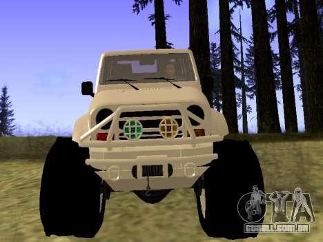 GTA 5 Mesa MerryWeather version para GTA San Andreas vista direita