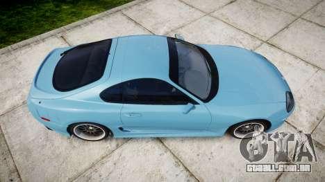 Toyota Supra 1998 para GTA 4 vista direita