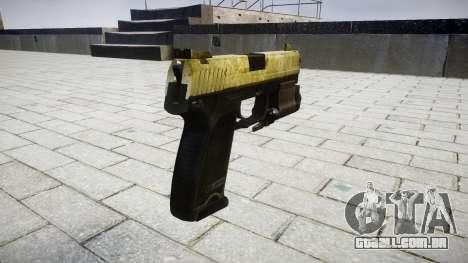 Pistola HK USP 45 azeite para GTA 4 segundo screenshot