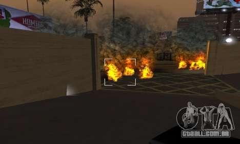 Yellow Effects para GTA San Andreas quinto tela